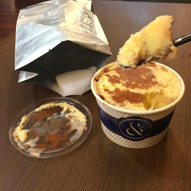 Tiramisu Ice cream Ampersand