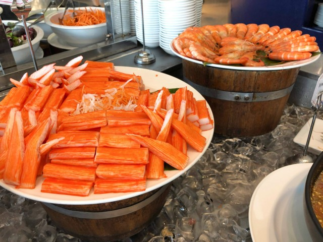 seafood on ice - Lunch Buffet