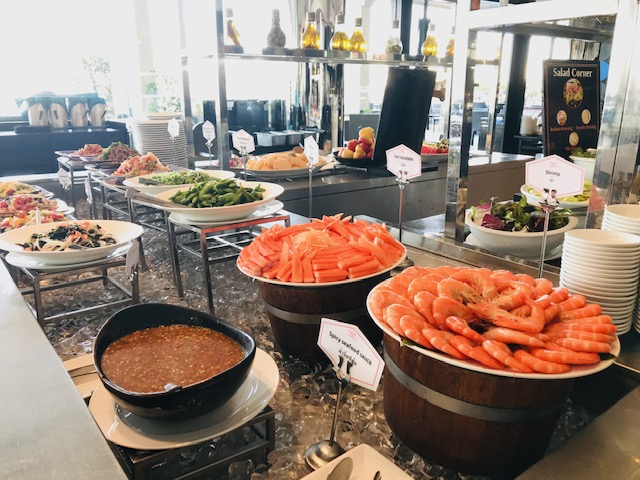 seafood lunch buffet